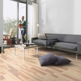 Ask Rustik Hvid Matlak <br/ >Timbertop 22mm Parketgulv