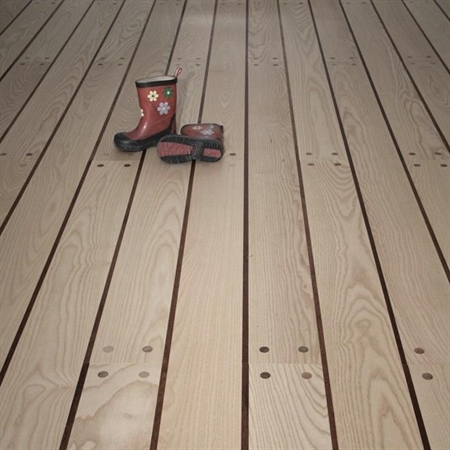 Gummiliste til gulv
