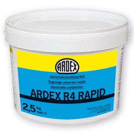 Universal Hurtigspartel, Ardex R4 Rapid.